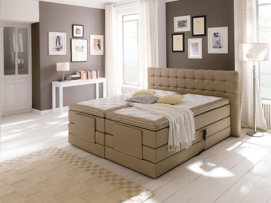 Mark Morris® Boxspringbett London,  H2/H3,