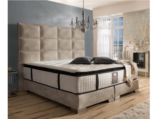 Mark Morris® Boxspringbett Quadro Plus Deluxe